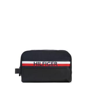 TOMMY HILFIGER Toaletní taška 'URBAN MIX'  bílá / modrá / červená