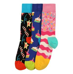 Happy Socks Ponožky 'Happy Birthday Cake'  mix barev