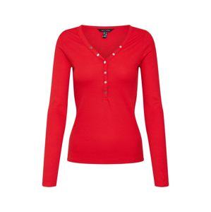 NEW LOOK Tričko 'NECK POPPER'  červená