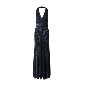 LACE & BEADS Společenské šaty 'Morgan'  modrá