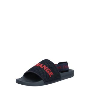ARMANI EXCHANGE Sandály  červená / námořnická modř