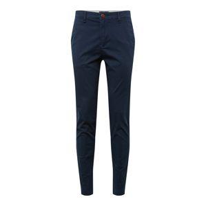 HOLLISTER Chino kalhoty 'CHINO SKNY NAVY'  námořnická modř