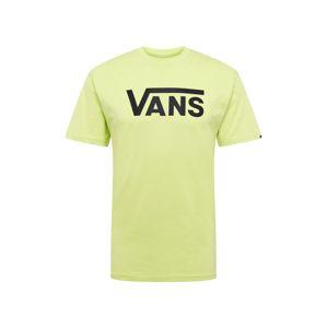 VANS Tričko 'Classic'  světle zelená / černá