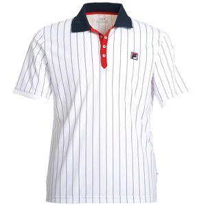 FILA Funkční tričko 'Stripes'  bílá