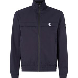Calvin Klein Jeans Přechodná bunda 'Harrington'  námořnická modř