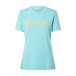 Best Company Tričko  modrá