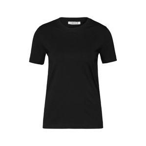 EDITED Tričko 'Leila'  černá