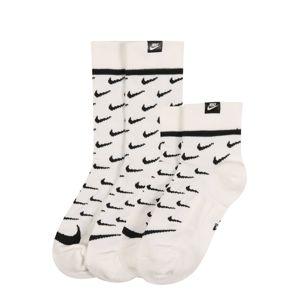 Nike Sportswear Ponožky  černá / bílá