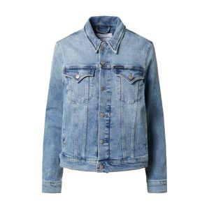 Calvin Klein Přechodná bunda  modrá džínovina