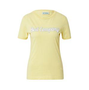 Best Company Tričko  žlutá