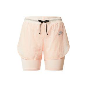 NIKE Sportovní kalhoty  broskvová