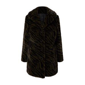 Gipsy Zimní kabát 'Chandi'  černá / khaki