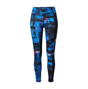 REEBOK Sportovní kalhoty ''WOR MYT'  pink / modrá / černá