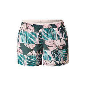 NIKE Sportovní kalhoty 'RUNWAY'  pink / jedle / nefritová