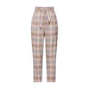 Pop Copenhagen Kalhoty se sklady v pase  béžová