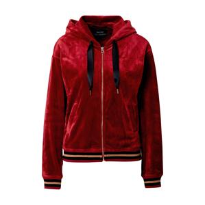 Funky Buddha Mikina s kapucí  červená