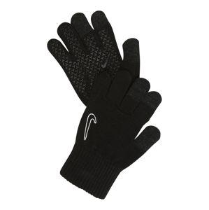 NIKE Accessoires Sportovní rukavice  černá / bílá