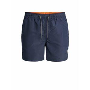 JACK & JONES Plavecké šortky 'Bali'  námořnická modř