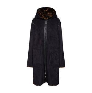 BLONDE No. 8 Přechodný kabát 'EMMA'  béžová / černá