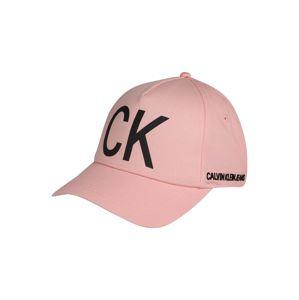Calvin Klein Jeans Čepice  černá / růže