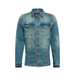 SHINE ORIGINAL Přechodná bunda  modrá džínovina