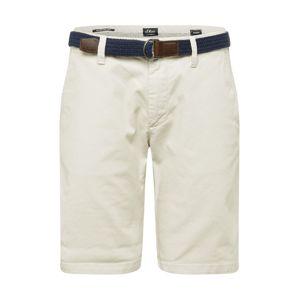 s.Oliver Chino kalhoty 'AUSTIN'  offwhite