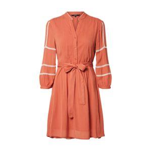 VERO MODA Šaty 'Guna'  oranžově červená