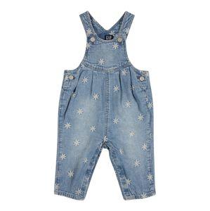 GAP Laclové kalhoty  modrá džínovina