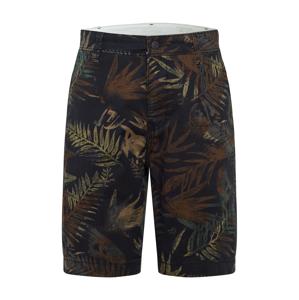 LEVI'S Chino kalhoty  černá / tmavě zelená / khaki