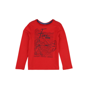 s.Oliver Junior Tričko  červená / černá