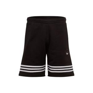 ADIDAS ORIGINALS Kalhoty 'OUTLINE SHORT'  bílá / černá