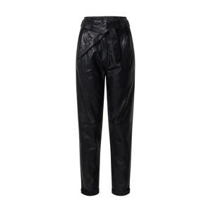 Ibana Kalhoty se sklady v pase 'PAULA'  černá