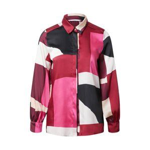 iBlues Halenka 'Bengala'  pink / krémová / černá / bordó