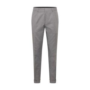 HUGO Kalhoty se sklady v pase 'Gabriel'  šedá