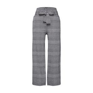 re.draft Kalhoty 'Wide Leg Pant'  šedá / černá