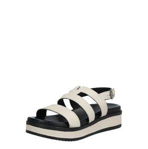 SHABBIES AMSTERDAM Páskové sandály  offwhite