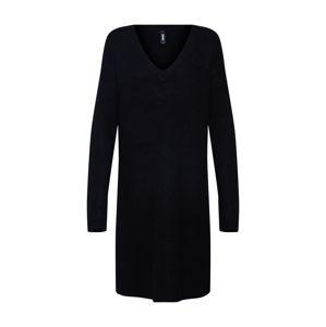 Eksept Úpletové šaty 'Button Dress'  černá