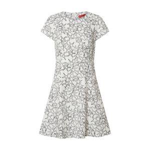 MAX&Co. Koktejlové šaty 'DISPARI'  bílá / černá
