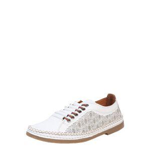 COSMOS COMFORT Šněrovací boty  bílá / hnědá