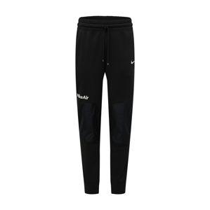 Nike Sportswear Kalhoty 'Air'  bílá / černá