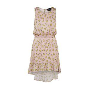 Pop Copenhagen Šaty  žlutá / růžová
