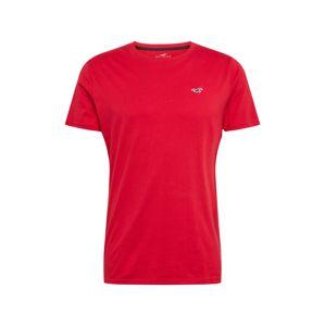 HOLLISTER Tričko  červená