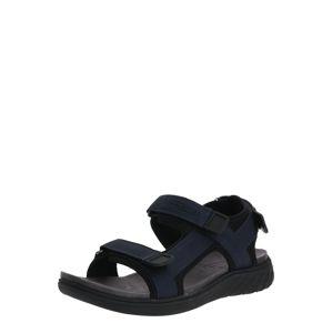 CAMEL ACTIVE Sandály  černá / tmavě modrá