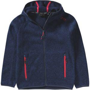 CMP Funkční flísová bunda  námořnická modř / červená