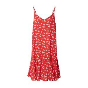 PIECES Letní šaty 'NYA'  červená