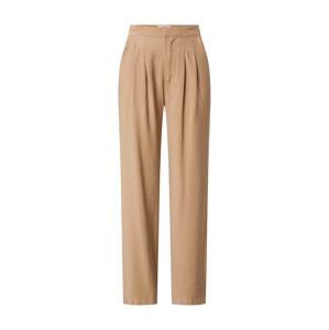 Cotton On Kalhoty se sklady v pase 'Drapey'  světle hnědá