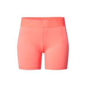 ADIDAS PERFORMANCE Sportovní kalhoty  růžová / bílá