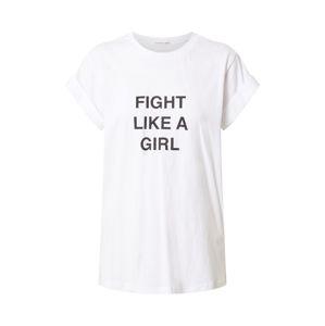 Designers Remix Tričko 'Stanley Fight'  bílá / černá