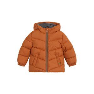 MANGO KIDS Zimní bunda  oranžová