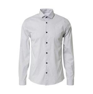 Lindbergh Košile  bílá / marine modrá